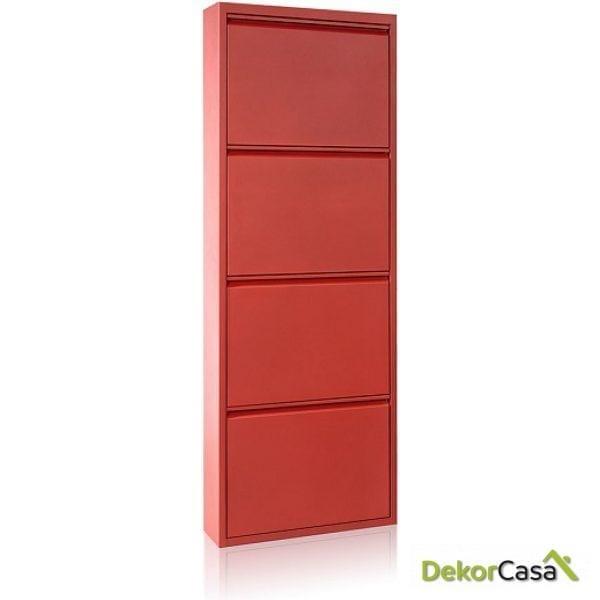 ZAPATERO AM Metal Rojo 15 P