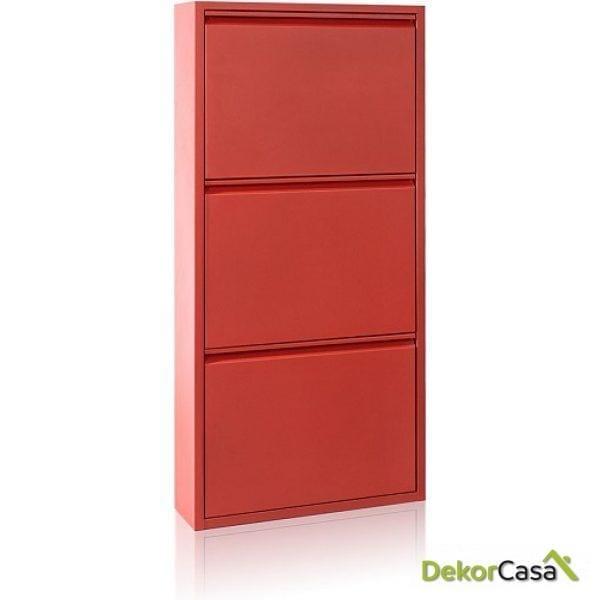 ZAPATERO MES Metal Rojo 15 P