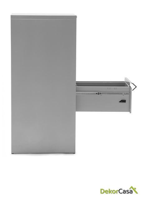 archivador metalico 4 cajones gris denver 1