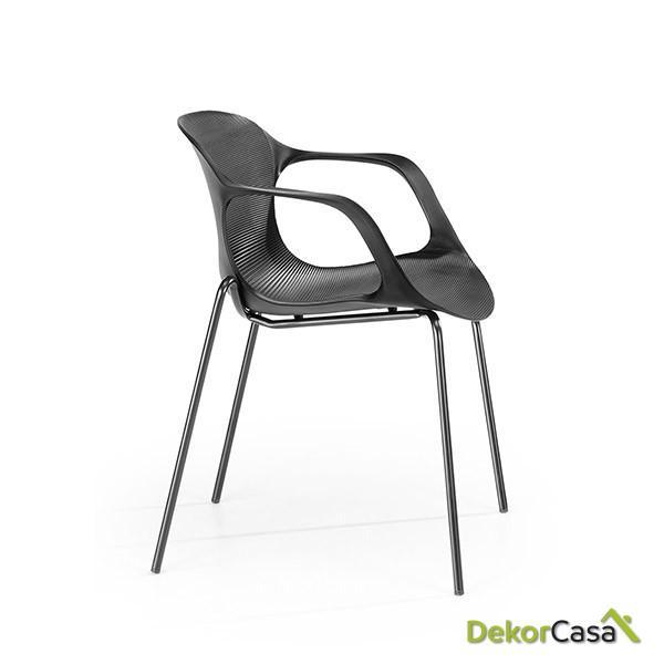 silla confidente apilable blanca bari copia 1