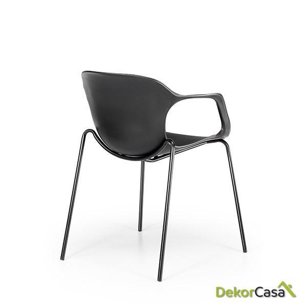 silla confidente apilable blanca bari copia 2