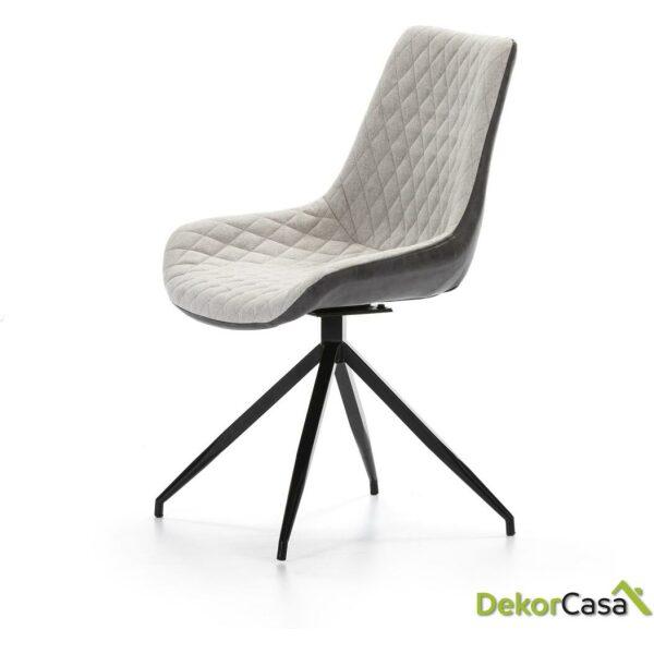 silla dc 118 combinado gris dh