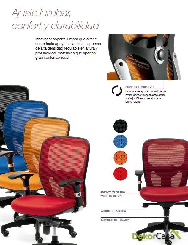 silla de oficina ergonomica boston 1