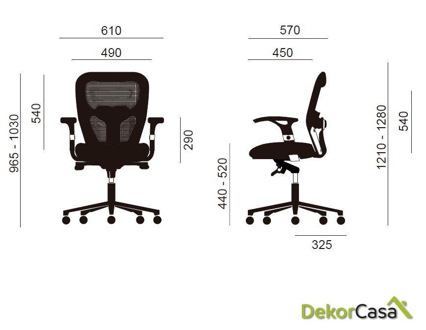 silla de oficina ergonomica boston 2