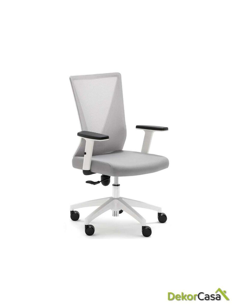 silla oficina gris tirana