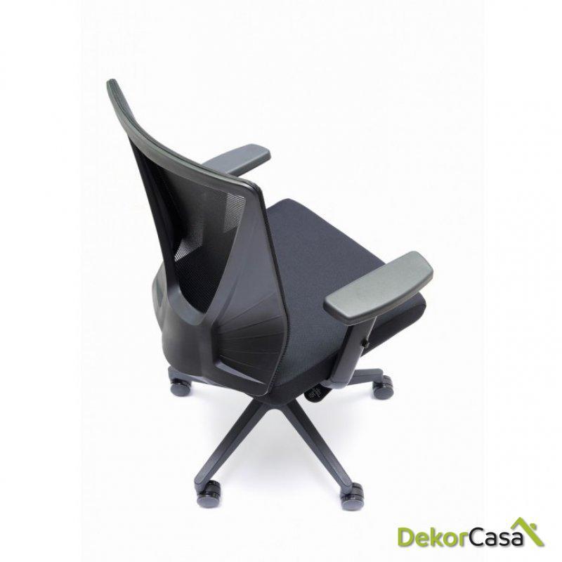 silla oficina negra tirana 10