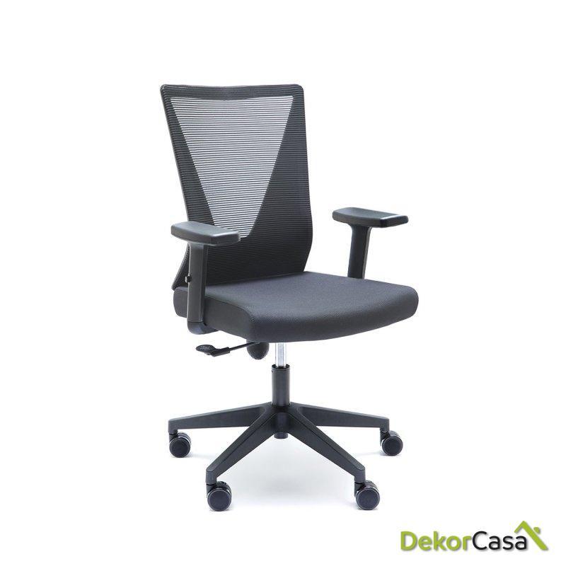 silla oficina negra tirana 7