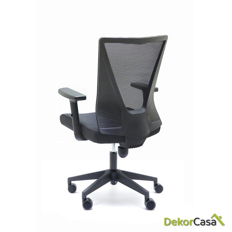 silla oficina negra tirana 8