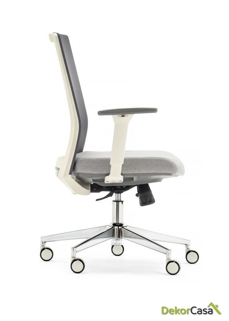 silla oficina gris niza1