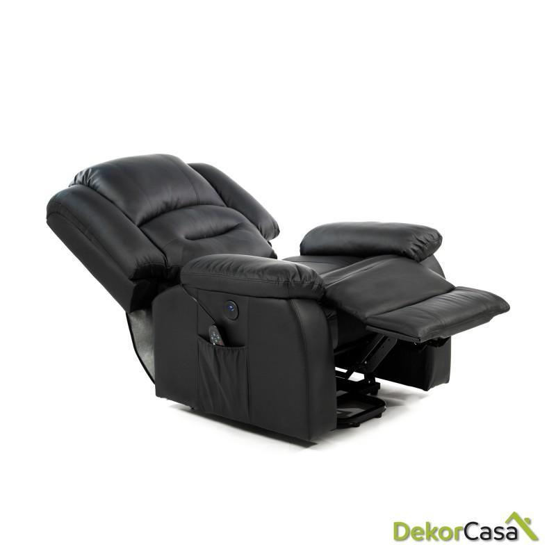 sillon de masaje levantapersonas negro eco 8198up negro 1