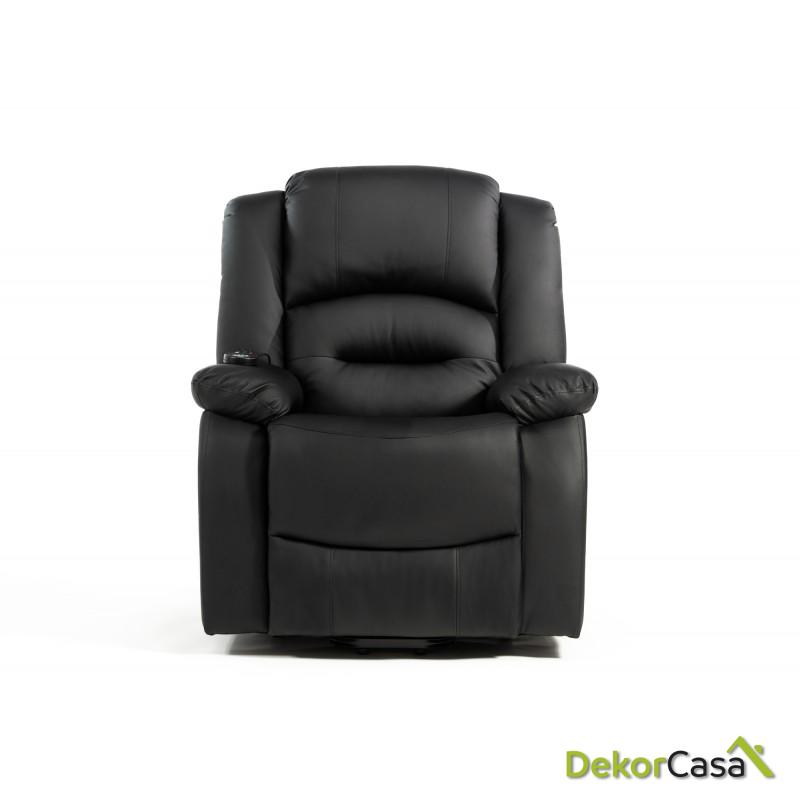 sillon de masaje levantapersonas negro eco 8198up negro 2